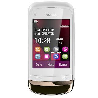 Spesifikasi dan Harga Handphone Nokia C2