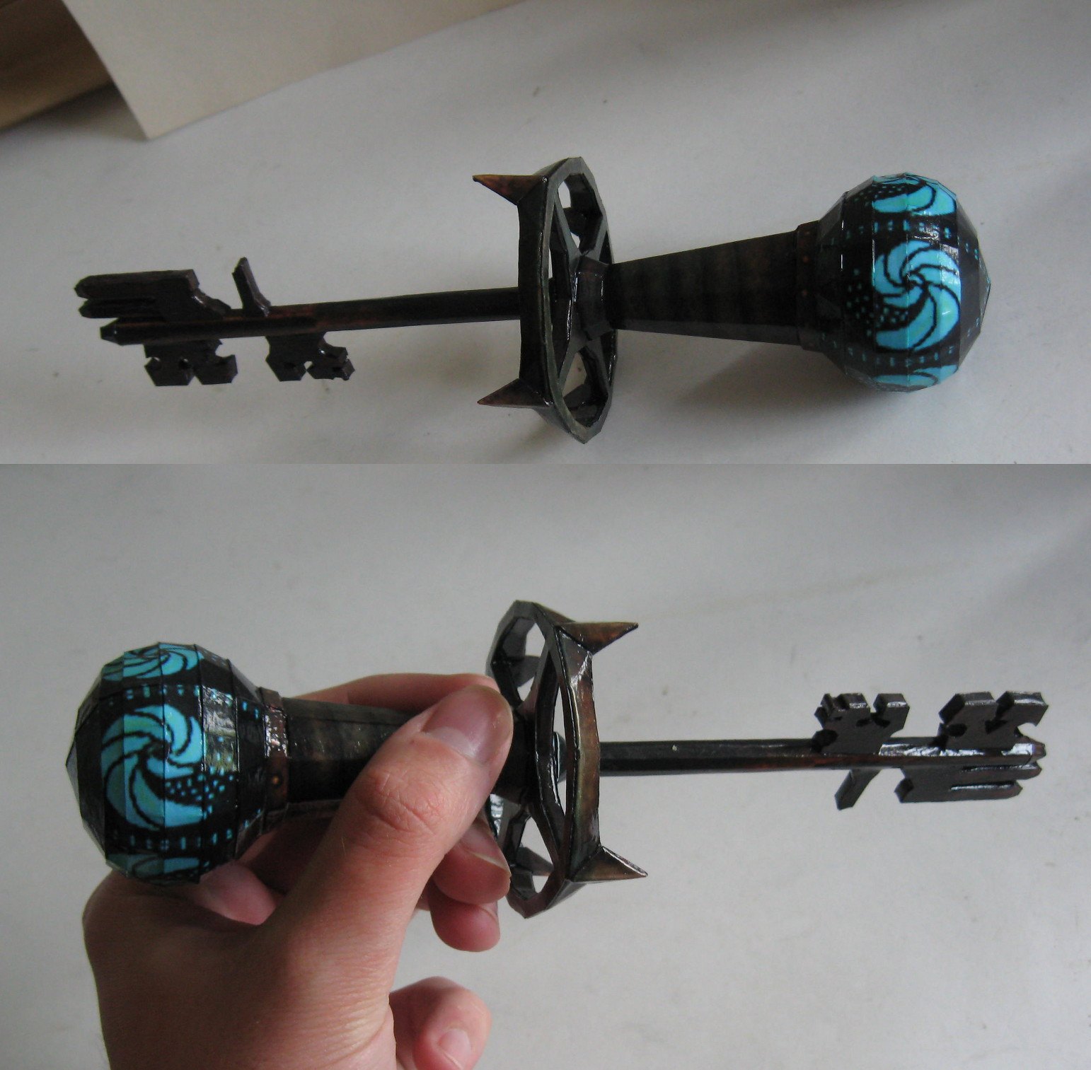 Skyrim Skeleton Key Papercraft
