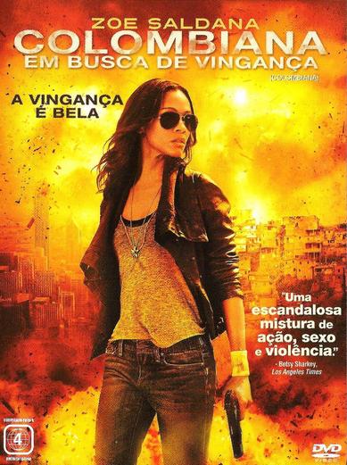 Filme Colombiana Em Busca De Vingança Dublado AVI DVDRip