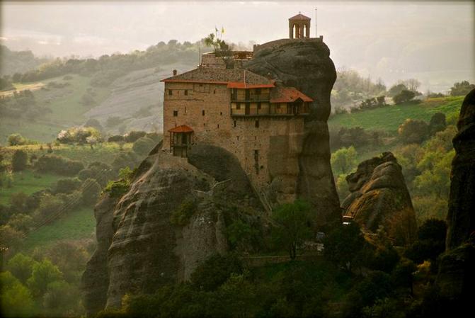 grecia monasterios meteora