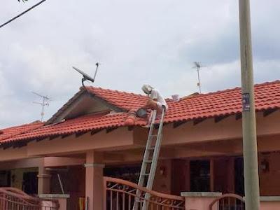 Bumbung Rumah Bocor Pula