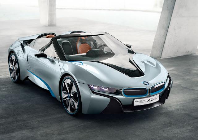 BMW i8 Concept Spyder front