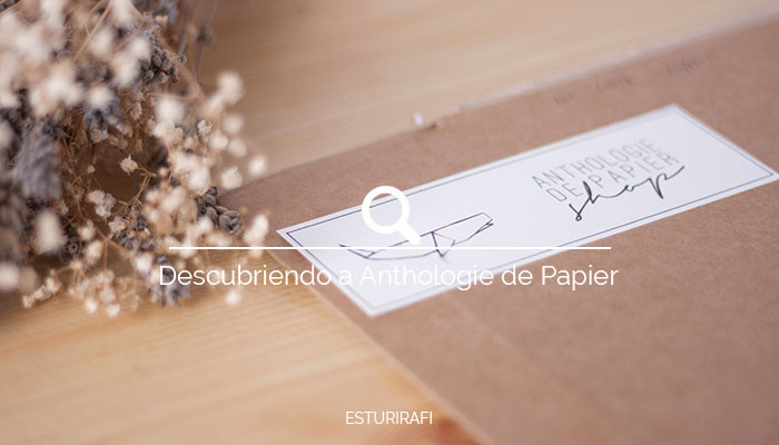 Sorteo Anthologie de Papier