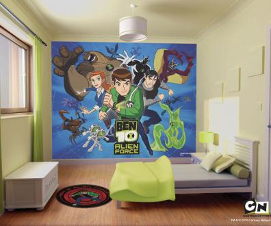 Originales murales gigantes para habitaciones de ni os for Habitaciones originales para adultos