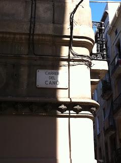 carrer del cano calle quintas gracia