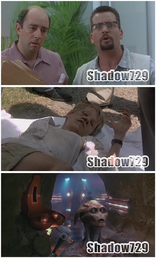 """The Arrival (La llegada) (1996) """"Extraterrestres"""" 720p"""
