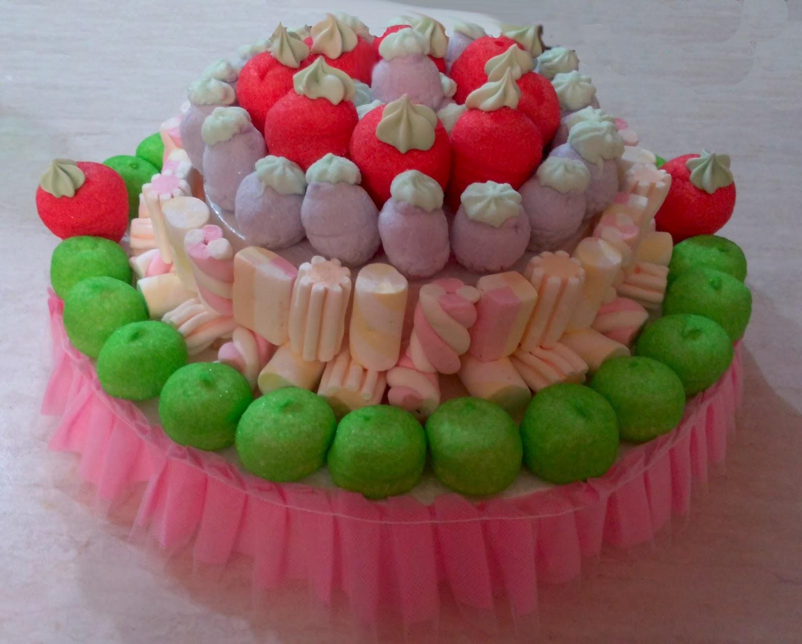 Торт из маршмеллоу своими руками 997