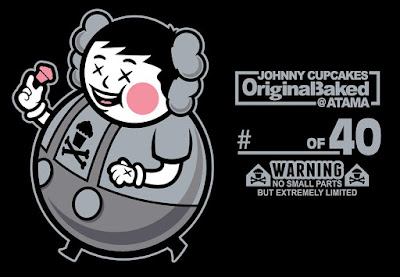 "Johnny Cupcakes x ATAMA ""OriginalBaked"" Kaws Big Kid T-Shirt"