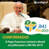 Confirmada a participação do Papa Francisco na JMJ