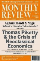 Nel 1949 Sweezy aveva fondato, con Leo Huberman, la «Monthly Review»
