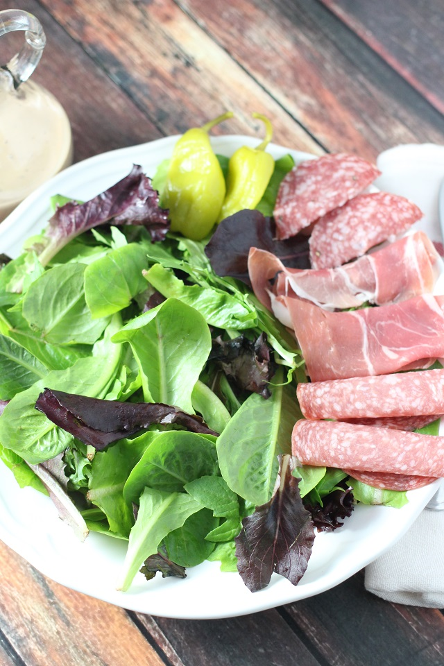 Easy Italian Antipasto Salad