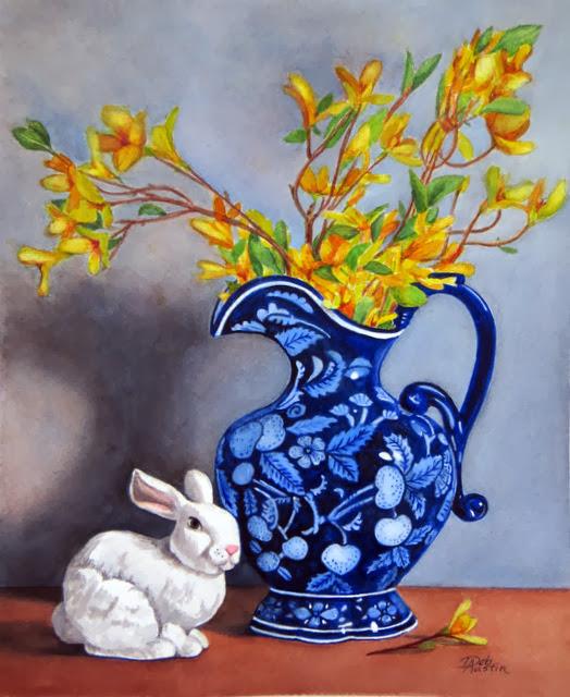 Spring Still Life (Watercolor)