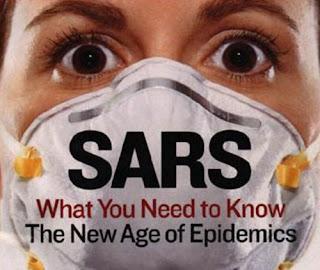 Hình 4: Dịch SARS khiến nhiều người khiếp sợ