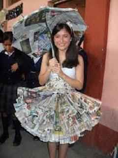 Vestidos con Material Reciclado, Moda y Diseño Ecoresponsable, V Parte