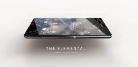 Inilah wujud desain awal Sony Xperia Z4