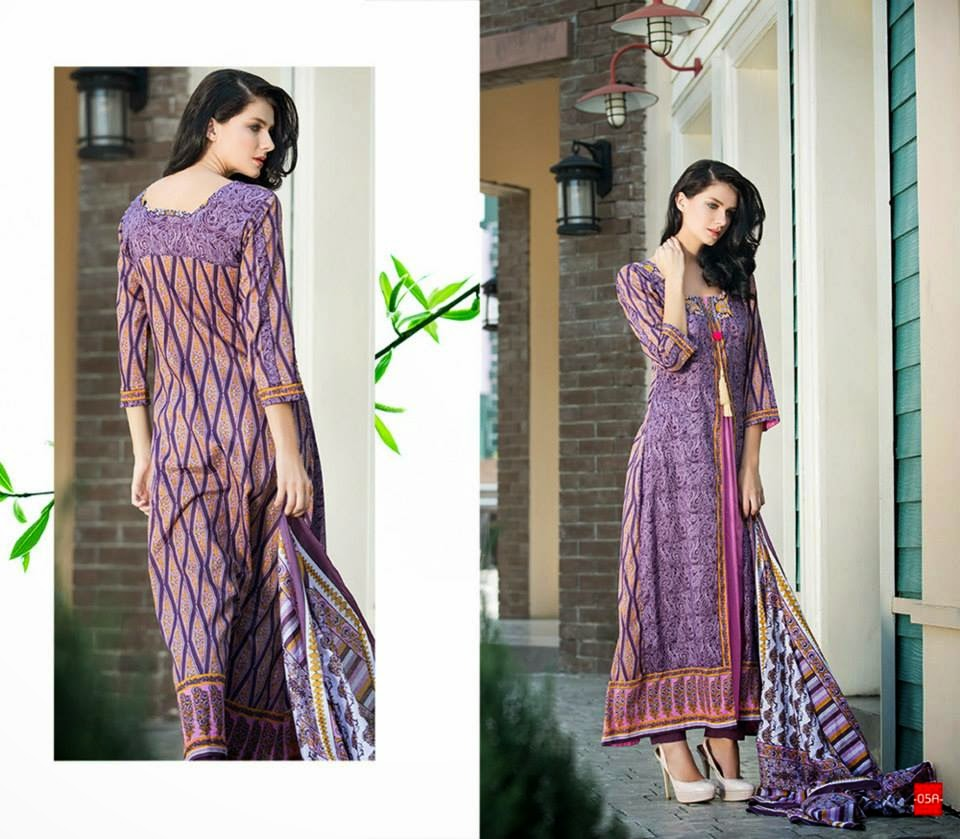 Casual Wear Printed Cotton Dress Material Collection