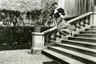 Jacque-Henri Lartique, stairs