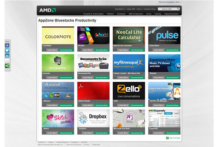 AMD and BlueStacks