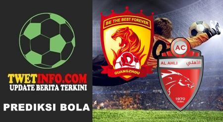 Prediksi Guangzhou Evergrande vs Al Ahli Dubai