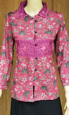 baju batik kerja modern