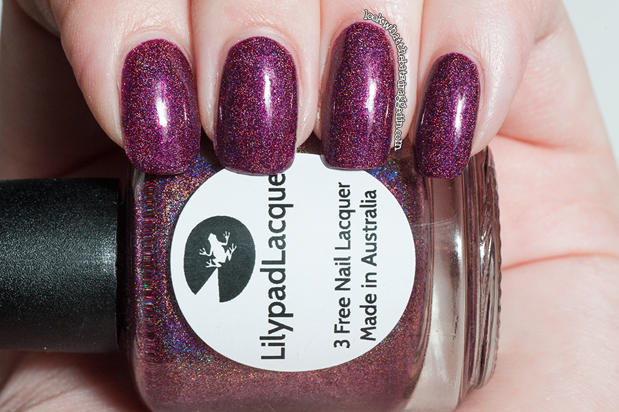 Lilypad Lacquer What's In-die Box Queen of Halloween swatch