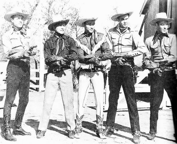 Robert Livingston - Don Barry - Roy Rogers - Sunset Carson - Allan L	ane