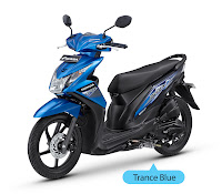 Honda BeAT FI CBS-Techno Biru