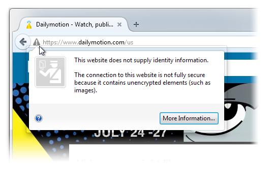 Botón de identidad de sitio