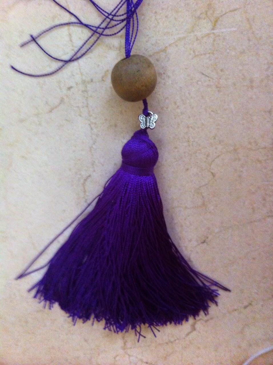 Creando con lily como hacer borlas de hilo paso a paso - Como hacer borlas de hilo ...