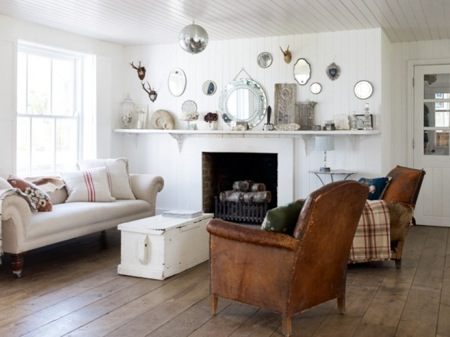 Natural modern interiors how to decorate the modern for Modern country style