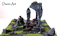 Makieta bitewna ruin kaplicy