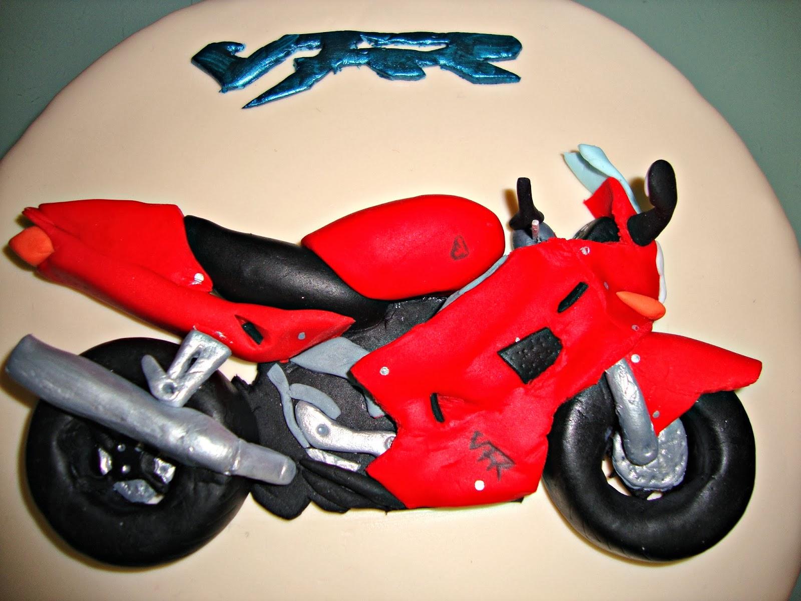 Tarta moto Honda VFR