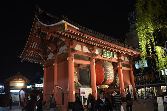Kaminarimon Gate, Asakusa