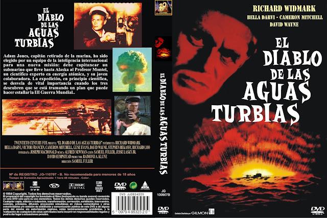 Carátula. cine clásico, dvd, cover: El diablo de las sguas turbias | 1954 | Hell and High Water