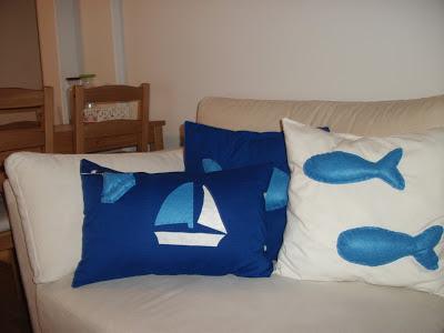 yelkenli yastık