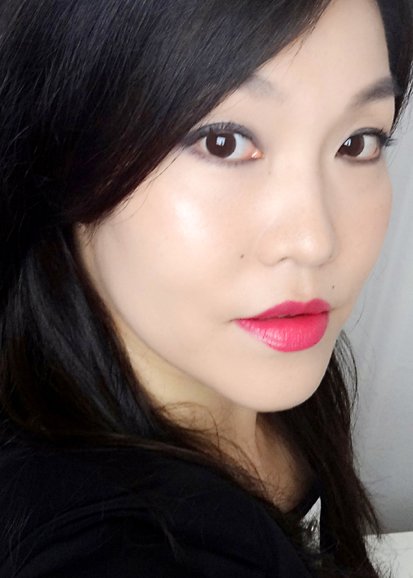 MAC Amplified Lipstick Red Balloon FOTD