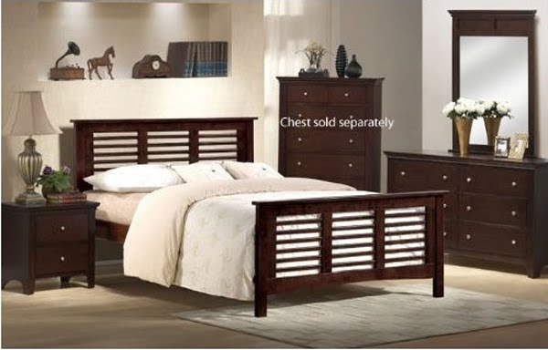 full size bedroom set espresso sold by visiondecor furniture