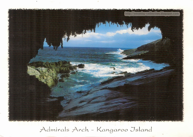 Postcard | Australia | Admirals Arch, Kangaroo Island