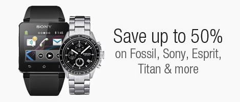 Upto 50% Off On Selected watches