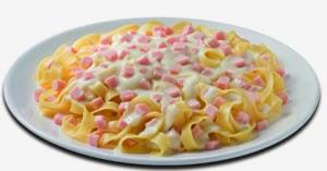 Pasta con Salsa Alfredo
