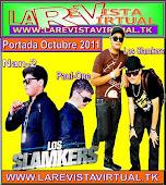 Los Slamkers Portada Octubre 2011