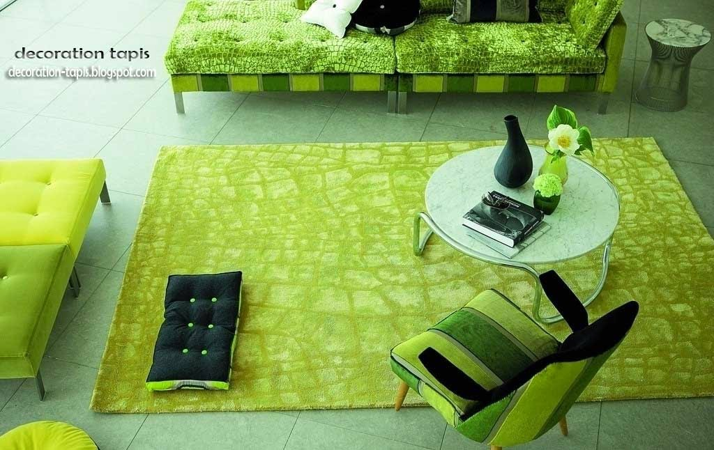 d coration tapis decoration tapis vert. Black Bedroom Furniture Sets. Home Design Ideas