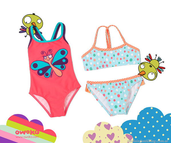 mallas y bikinis nenas owoko verano 2014