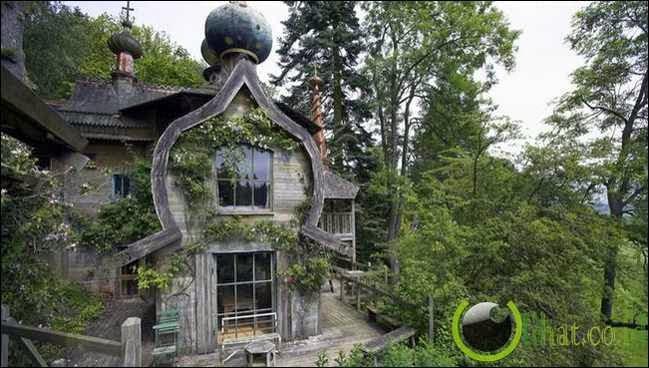 Fancy dacha, Russia