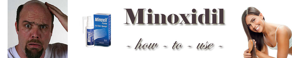 Minoxidil - How to use