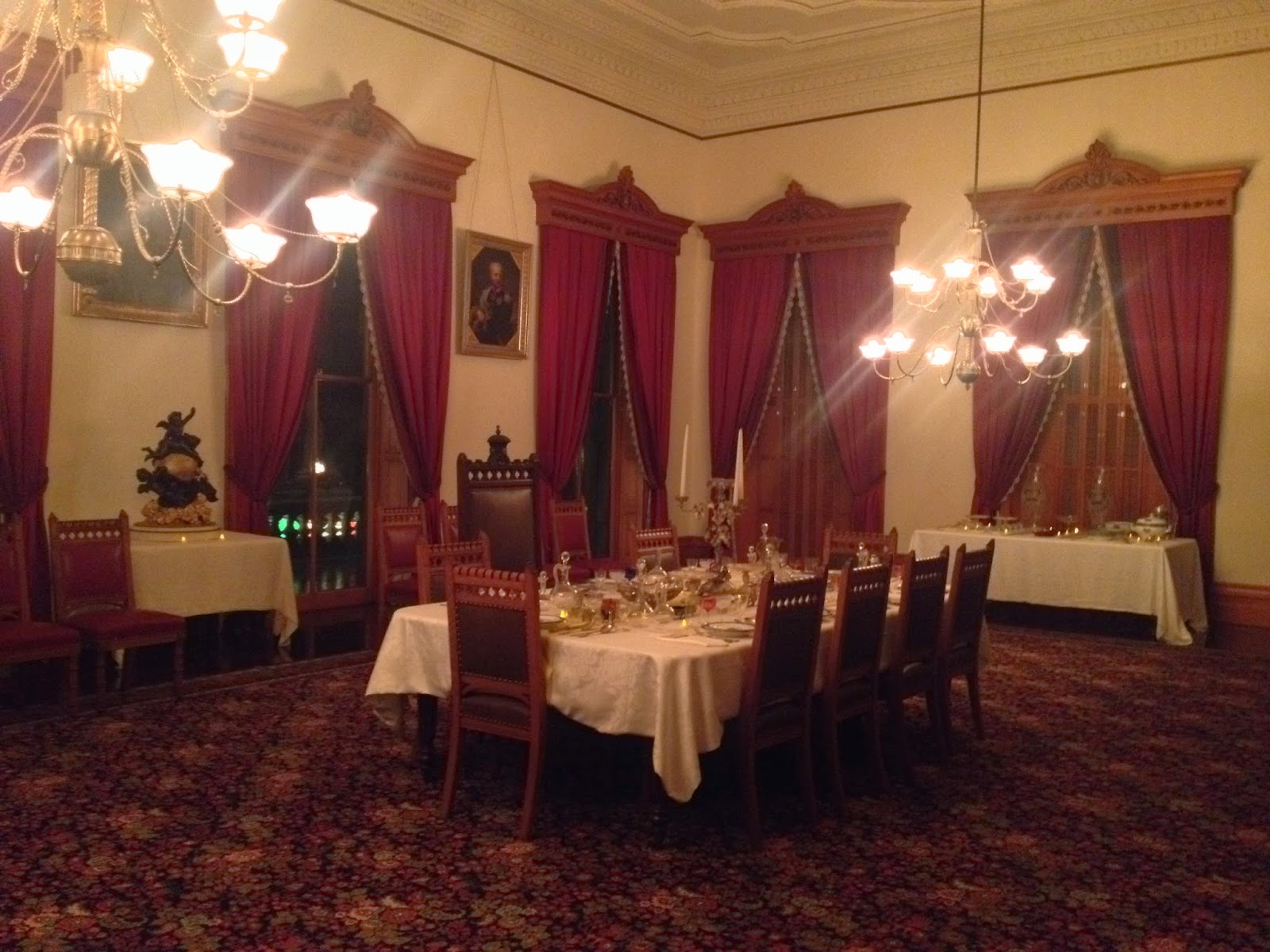 Iolani Palace Dining Room