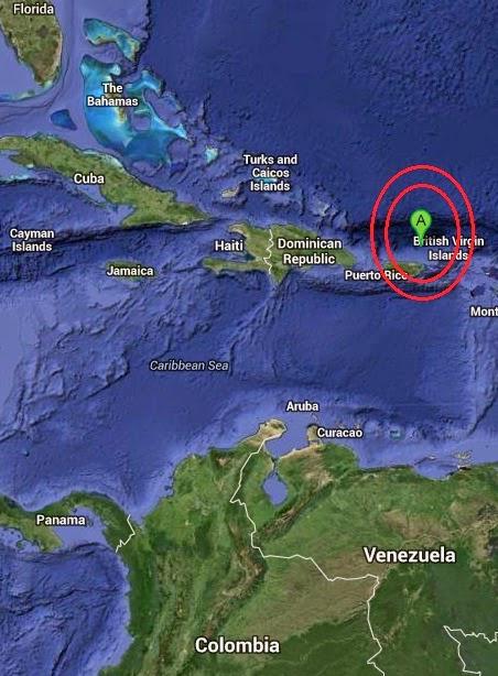 Magnitude 2.9 Earthquake of Esperanza, Puerto Rico 2014-09-08