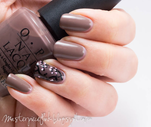 Essie Glamour Purse, OPI You Don't Know Jacques, Cheeky plate CH50
