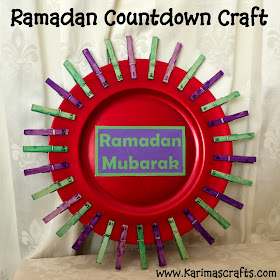 Ramadan Countdown Crafts  Muslim