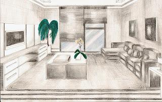 Desenho como desenhar decoração Sala projeto pintar e colorir